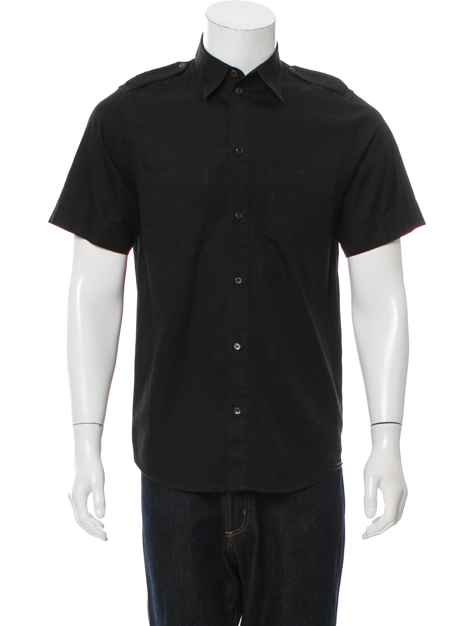 A p c short sleeve button up shirt clothing wa325079 for Short sleeve button up shirts