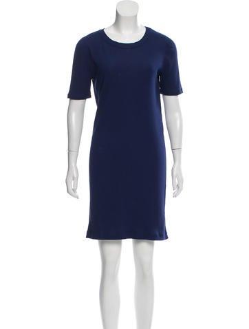 A.P.C. Short Sleeve Mini Dress None