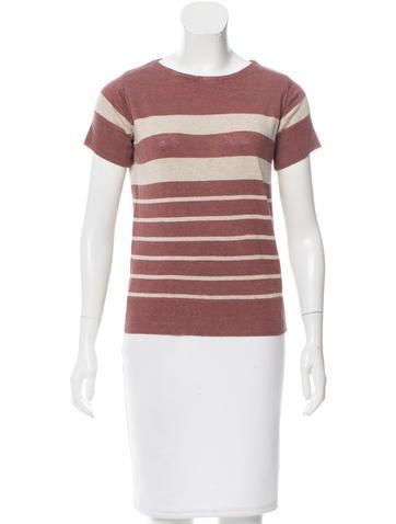 A.P.C. Short Linen Shirt None