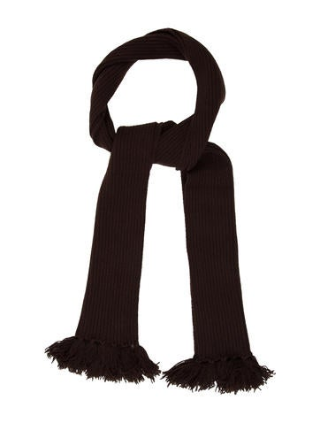 A.P.C. Rib Knit Scarf None