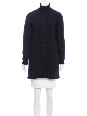 A.P.C. Wool Button-Up Jacket w/ Tags None