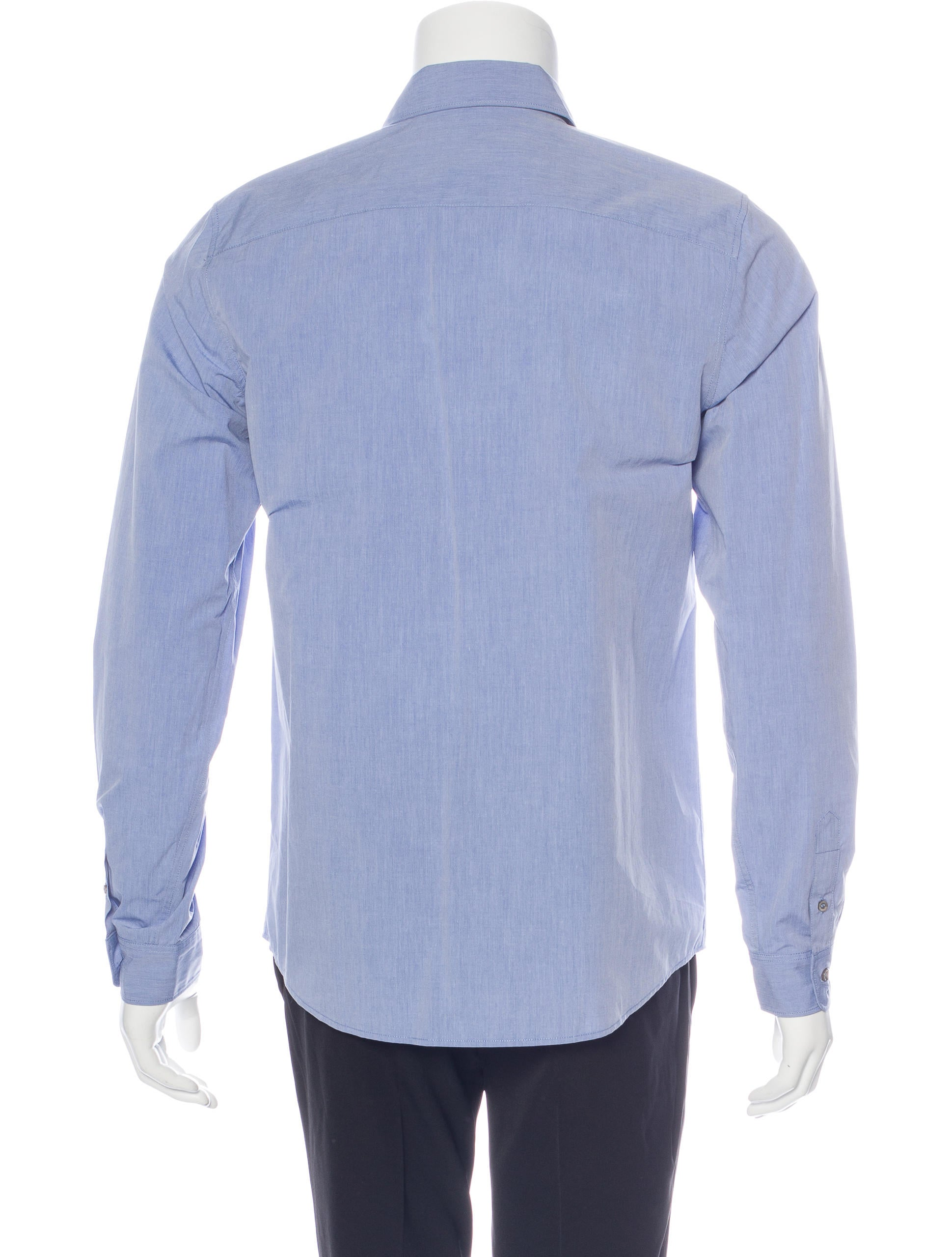 A p c woven button up shirt w tags clothing wa325443 Woven t shirt tags