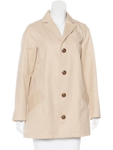 A.P.C. Collared Long Sleeve Coat None