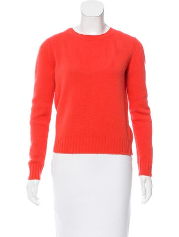 A.P.C. Wool Rib Knit Sweater None