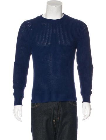A.P.C. Linen-Blend Knit Sweater None