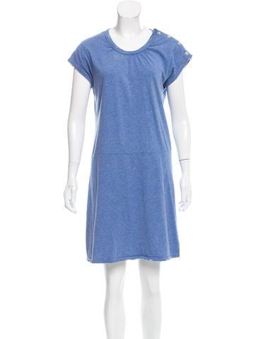 A.P.C. Cap-Sleeve Shift Dress None
