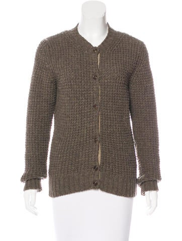 A.P.C. Wool Knit Cardigan None