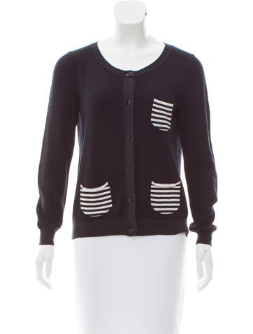 A.P.C. Long Sleeve Knit Cardigan None