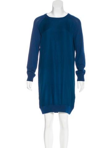 A.P.C. Silk Sweater Dress None