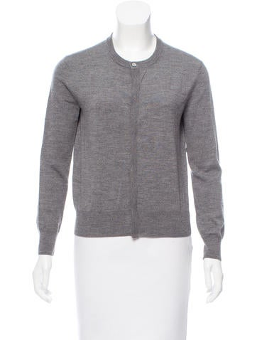 A.P.C. Crew Neck Wool Cardigan None