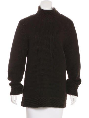 A.P.C. Wool-Blend Rib Knit Sweater None
