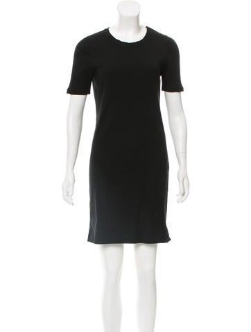 A.P.C. Rib Knit Mini Dress None
