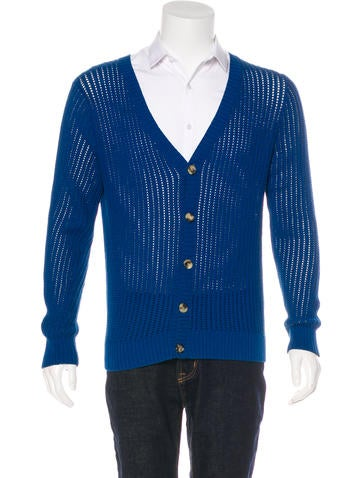 A.P.C. Knit V-Neck Cardigan None