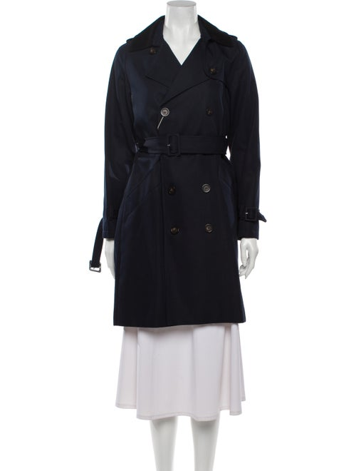 A.p.c. Trench Coat Blue