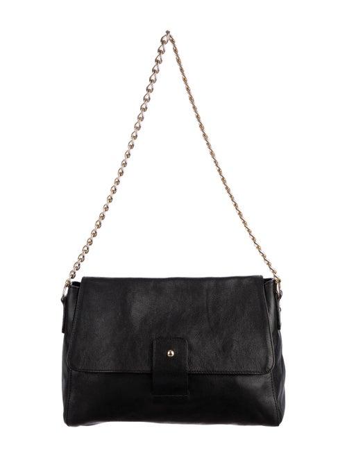 A.p.c. Leather Shoulder Bag Black