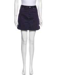 A.P.C. Mini Fitted Skirt