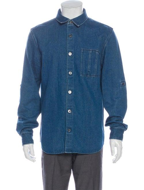 A.p.c. Long Sleeve Denim Shirt Denim