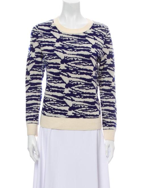 A.p.c. Wool Printed Sweater Wool