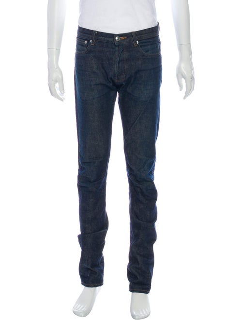 A.p.c. Skinny Jeans Blue