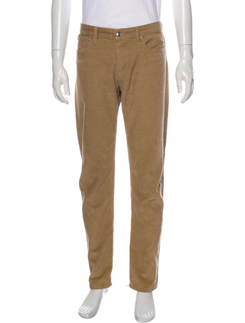 A.p.c. Corduroy Corduroy Pants Brown