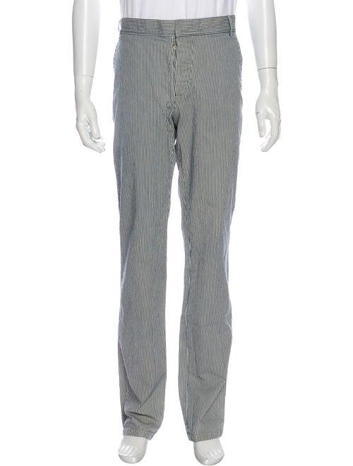 A.p.c. Striped Pants Blue