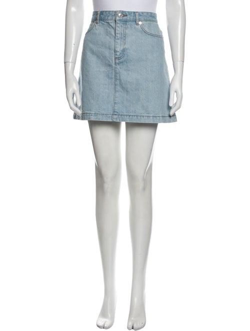 A.p.c. Mini Skirt Blue - image 1