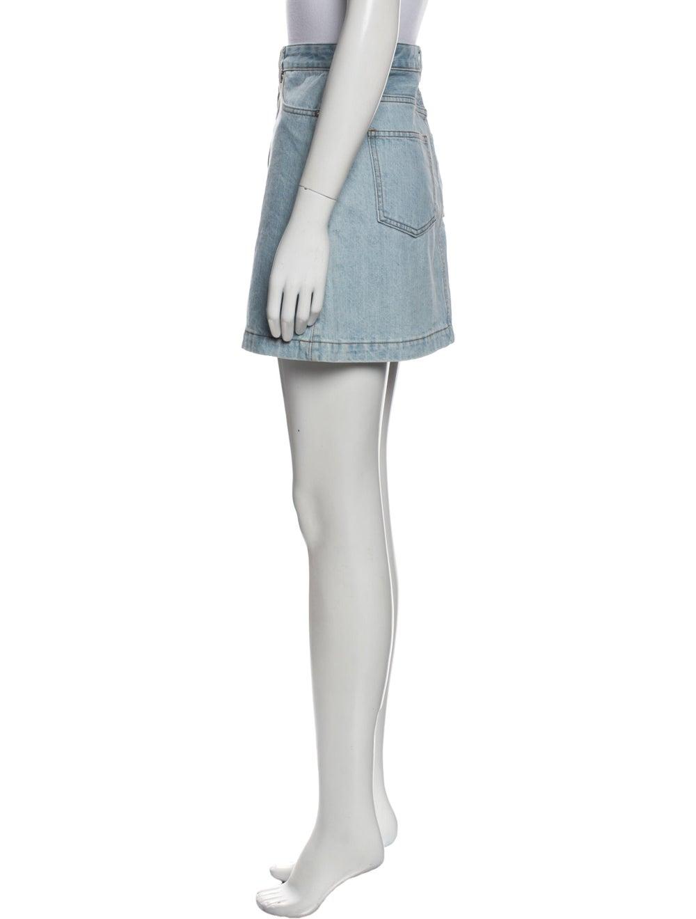 A.p.c. Mini Skirt Blue - image 2