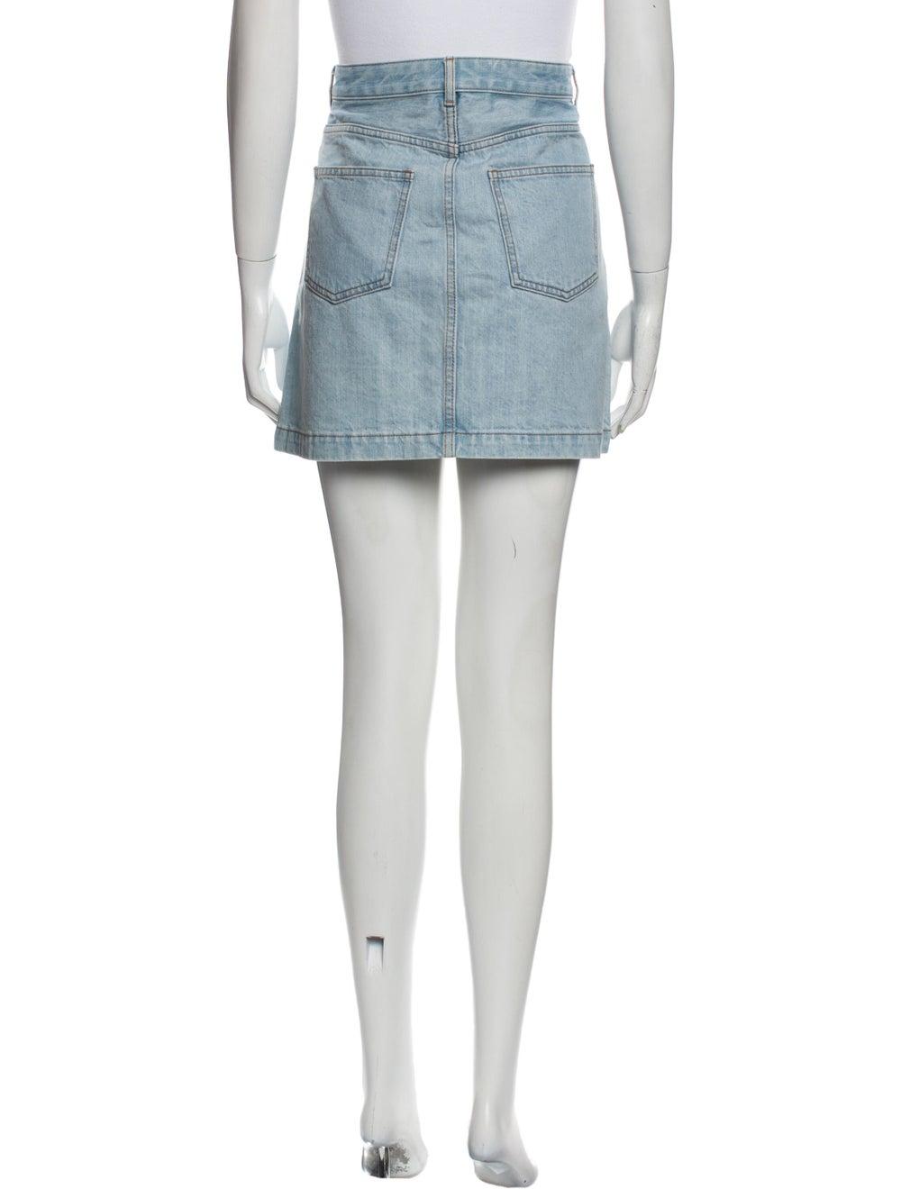 A.p.c. Mini Skirt Blue - image 3
