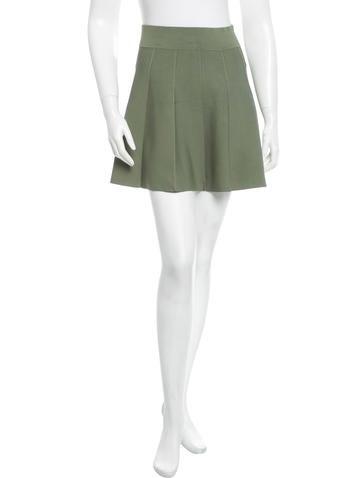 Knit Mini Skirt