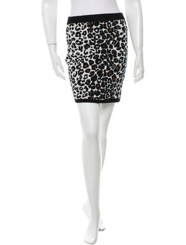 A.L.C. Cheetah Print Mini Skirt w/ Tags None