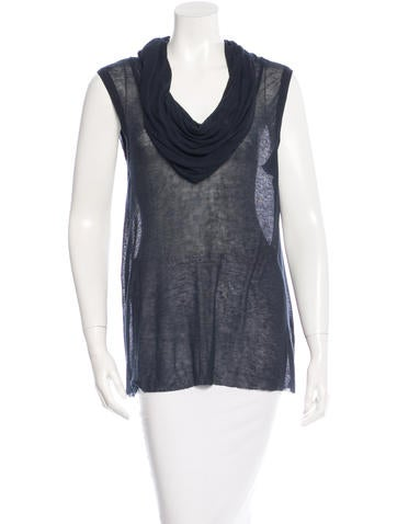 A.L.C. Sleeveless Cowl Neck top