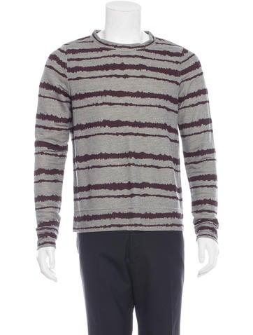 A.L.C. Static Stripe Sweater None