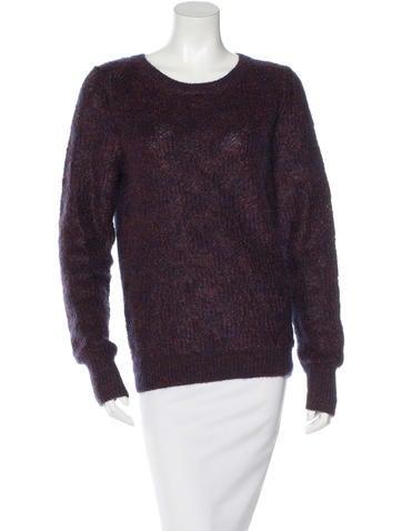 A.L.C. Wool--Blend Metallic Sweater None