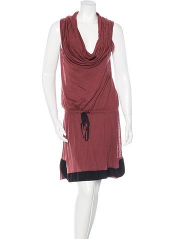 A.L.C. Two-Tone Midi Dress