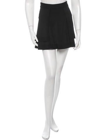 A.L.C. Rib Knit Mini Skirt None