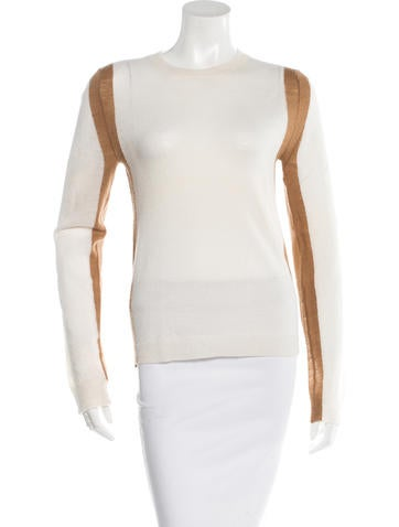 A.L.C. Wool Two-Tone Top None