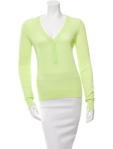A.L.C. Long Sleeve Knit Top None