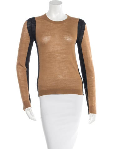 A.L.C. Wool Paneled Sweater None