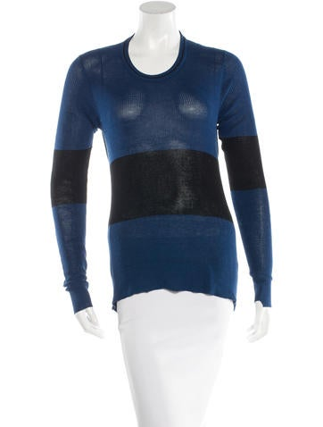 A.L.C. Cutout Colorblock Sweater None