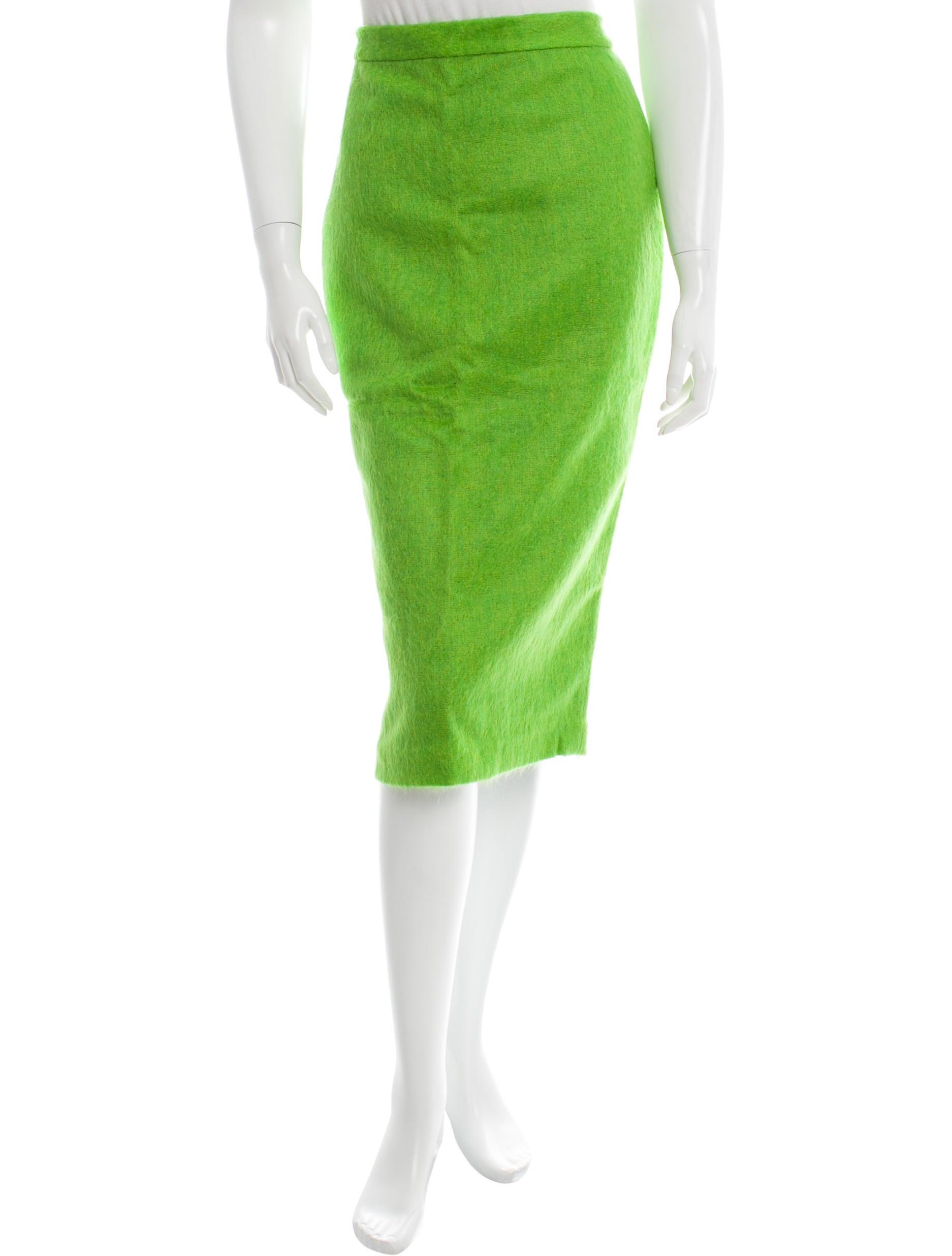 a l c knee length pencil skirt clothing wa431139