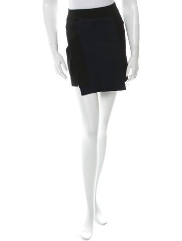 A.L.C. Asymmetrical Mini Skirt None