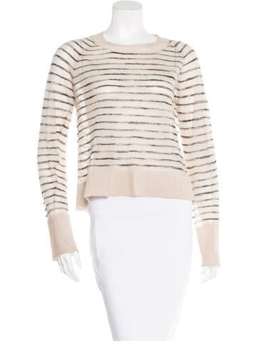 A.L.C. Striped Wool Sweater None