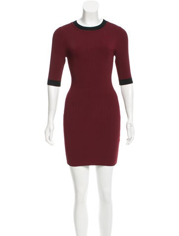 A.L.C. Bodycon Mini Dress None