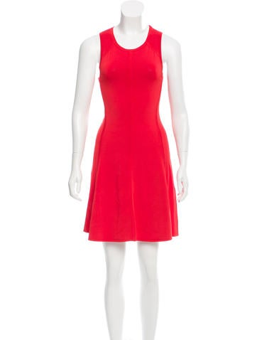 A.L.C. Sleeveless Bodycon Dress None