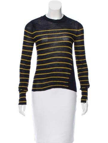 A.L.C. Striped Wool Top None