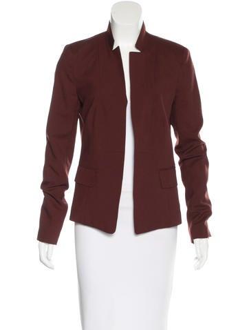 A.L.C. Wool & Mohair-Blend Open Front Blazer