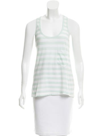 A.L.C. Striped Sleeveless Top