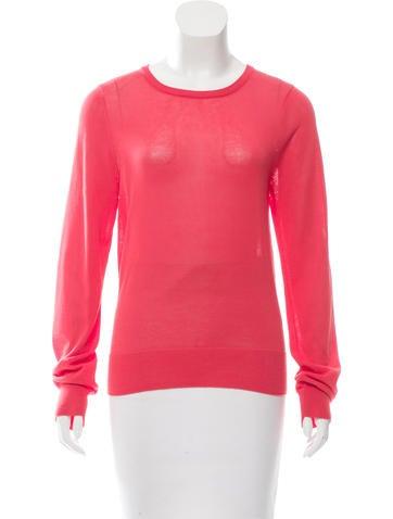 A.L.C. Rib Knit-Trimmed Sweater w/ Tags None