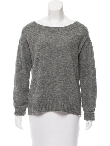 A.L.C. Wool Rib Knit Sweater None