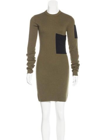 A.L.C. Rib Knit Sweater Dress None